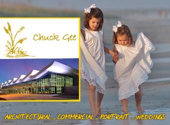 Chuck Gee Ad Logo