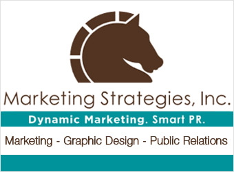 Marketing Strategies Ad Logo