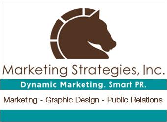 Marketing Strategies Ad Logo