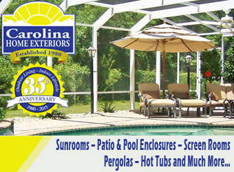 Carolina Home Exteriors Ad Logo