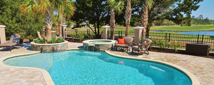 Quality pools spas landscaping design buliding for Quality pool design
