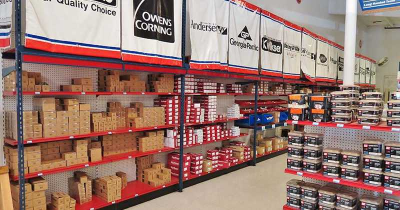 The Inside Of 84 Lumber Myrtle Beach Showroom Offers A Wide Selection Hardware That