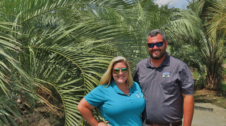 ... Owners, Nick U0026 Jenna Hudson At Their Landscaping U0026 Garden Center  Located At 1310 Hwy ...